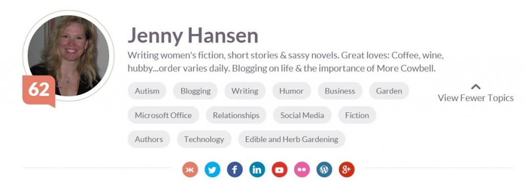 Klout Expanded Profile