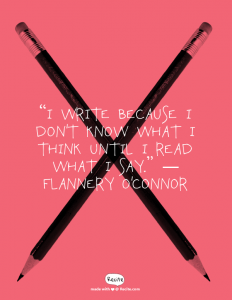 A Reason to Write