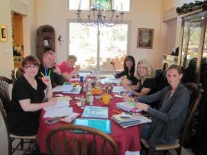 2015, April, EDITS System Highlighting, Jenn, Kari, Shelly, Gloria, Bob, Darynda