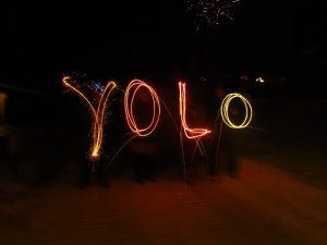 What do ''swag'' and ''yolo'' stand for?
